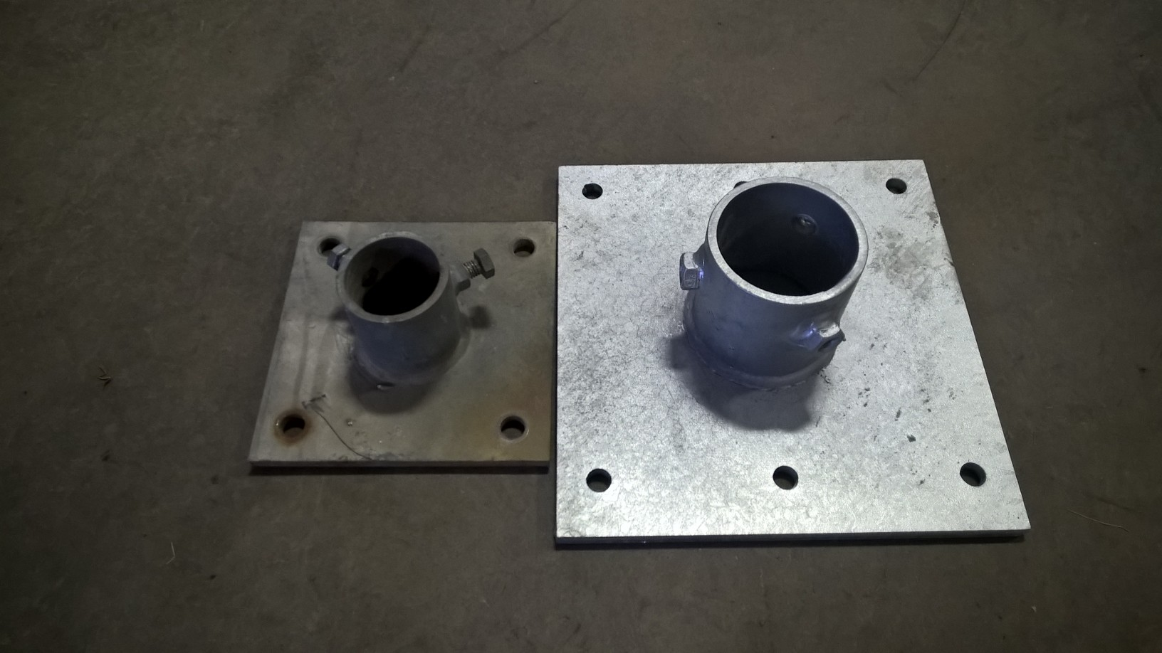 Concrete Mount Base Plate