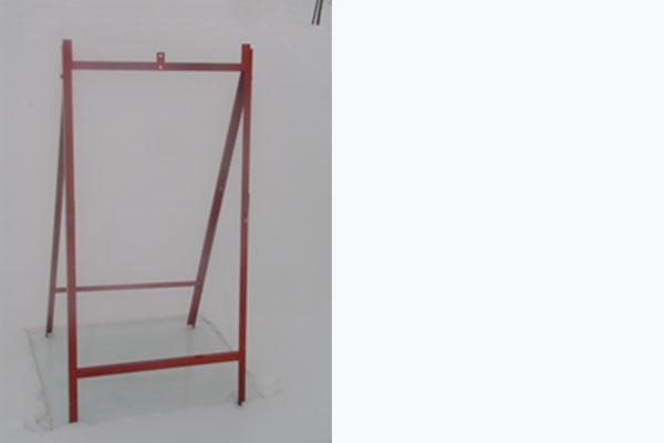 A-Frame Quad Sign Stand